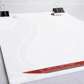 چاپ سربرگ A4 - تحریر 100 گرم